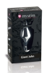 Plug électro-stimulation Giant John XXL - Mystim