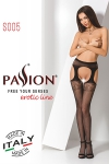 Collants ouverts S005 - Rouge