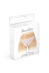 Culotte blanche ouverte Annette - Fashion Secret