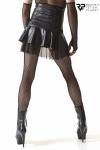 Jupe noire taille haute - Regnes