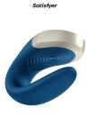 Stimulateur Double Love bleu - Satisfyer