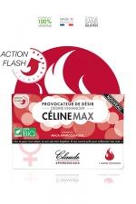 Provocateur de désir Flash CélineMax : Stimulateur sexuel pour femme à effet rapide, 1 dose en sachet.