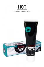 Long Power Marathon Cream : Crème retardante pour homme, pour des rapports sexuels qui durent plus longtemps.