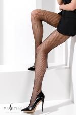 Collants résille TI020 Noir : Collants sexy résille.