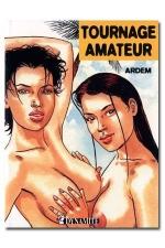 Tournage amateur : Pour son premier tournage porno amateur, Aurélie découvre la sodomie.