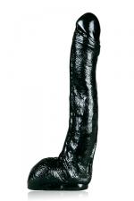 Grand gode realistic noir : Un gode All Black de taille plus qu'honorable pour un réalistic.
