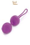 Boules de Geisha violettes Secret Intime