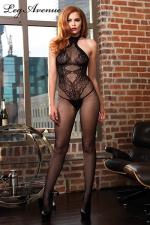 Combinaison Seamless Halter : Une combinaison sexy qui dessine sur votre corps un body string tr�s sensuel.