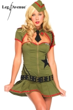 Costume Pin Up US Army : Costume militaire Pin Up, les belles d'armes de l'Oncle Sam.