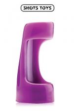 Vibrating sleeve - Shots Toyz : Gaine vibrante à utiliser comme anneau de pénis ou comme extension de votre vibromasseur favori.
