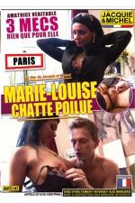 Marie Louise - chatte poilue : DVD sp�cial amatrices r�elles avec Marie Louise, une nana � la chatte tr�s poilue qui bosse � la tv.