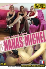 3 nanas pour Michel : DVD porno amateur avec 3 amatrices réelles qui se donnent vraiment à fond devant la caméra de Michel.