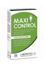 60 gélules retardantes Maxi Control : Complément alimentaire permettant de retarder l'éjaculation et de maintenir de bonnes relations sexuelles.