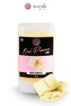 Lubrifiant comestible chocolat blanc