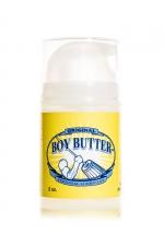 Lubrifiant Boy Butter Pump Original 59 ml : Le lubrifiant ultra glissant Boy butter à base d'huile de coco bio, en flacon à pompe et format de voyage... un must!