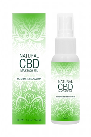 Huile de massage 50ml - Natural CBD