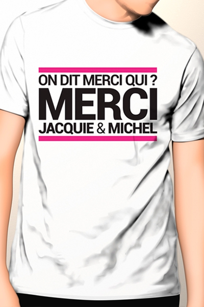 T-shirt Jacquie & Michel n°9