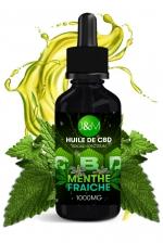 Huile de CBD Spectrum Jacquie et Michel - Menthe fraîche : Huile essentielle au CBD, aux saveurs et aux vertus exceptionnelles, arôme menthe fraiche, par Jacquie et Michel.