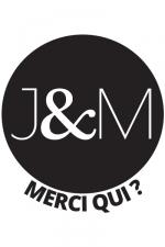 Tattoos J&M (x5) : Pack de 5 tatouages éphémères (dimensions 3,8 x 3,8 cm) reproduisant le célèbre logo de Jacquie et Michel.