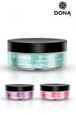 Beurre de massage aux phéromones : Excitez vos sens et les siens avec le beurre de massage parfumé DONA.
