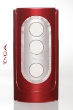 Tenga  Red Flip Hole : De délicats reliefs  s'enchevêtrent autour de votre sexe pour une sensation toute nouvelle! By Tenga