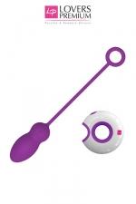Oeuf vibrant Leya : Donnez libre court à vos fantasmes avec cet Oeuf vibrant de qualité et sa télécommande pour l'actionner à distance.