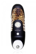 Stimulateur de Clitoris Womanizer Black : Le stimulateur clitoridien ultime Womanizer W100 coloris noir et panthère.