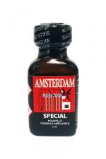 Poppers amsterdam special 24 ml : Le poppers Amsterdam SPECIAL en flacon de 24 ml dans une nouvelle formule à l'Amyle améliorée.