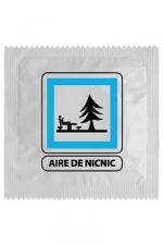Préservatif humour - Aire De Nic Nic : Préservatif Aire De Nic Nic, un préservatif personnalisé humoristique de qualité, fabriqué en France, marque Callvin.