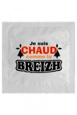 Préservatif humour - Chaud Comme La Breizh : Préservatif Chaud Comme La Breizh, un préservatif personnalisé humoristique de qualité, fabriqué en France, marque Callvin.