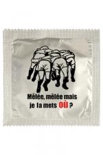 Préservatif humour - Je La Mets Ou : Préservatif Je La Mets Ou, un préservatif personnalisé humoristique de qualité, fabriqué en France, marque Callvin.
