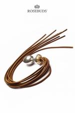 Rosebuds Whip Bud : Le Rosebud pour varier les plaisirs... à la fois un plug en métal et un martinet!